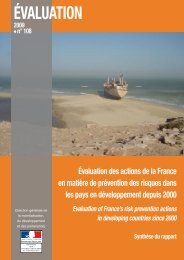 ÉVALUATION - France-Diplomatie-Ministère des Affaires étrangères