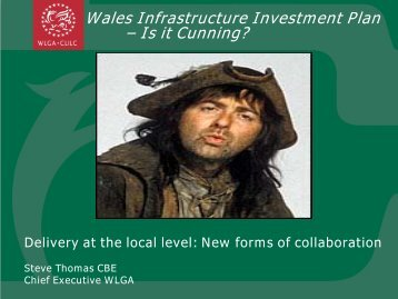 Steve Thomas CBE, Chief Executive, Welsh Local Government ...