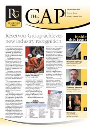 Reservoir Group achieves new industry recognition - ALS Oil & Gas