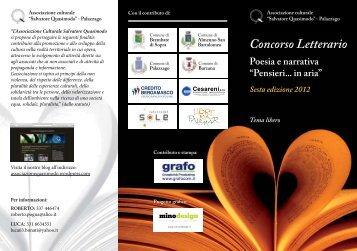 Volantino Ass Quasimodo 2012 bassa.pdf - Concorsi Letterari
