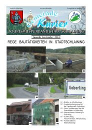 tourismusverband stadtschlaining rege bautätigkeiten in ...