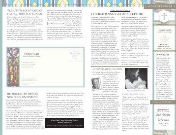 View Publication - Myers Park United Methodist Church