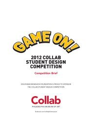 2012 COLLAB STUDENT DESIGN COMPETITION