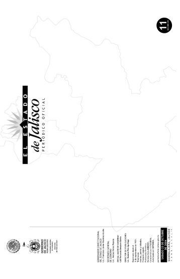 Sección XIII - Periódico Oficial El Estado de Jalisco