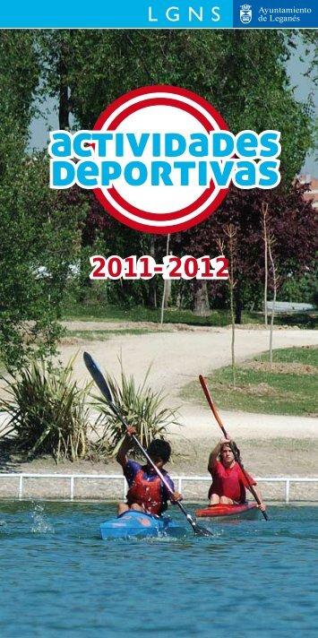 Guía actividades deportivas 2011 - Ayuntamiento de Leganés