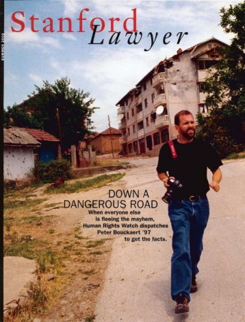 Summer 2002 – Issue 63 - Stanford Lawyer - Stanford University