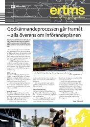Nyhetsbrev nr 5, november 2009 - Trafikverket