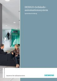 Desigo-Gebäude - Bacnet Interest Group Europe ev