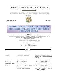 Effets des phytases d'origine bactérienne et fongique sur la ... - BEEP