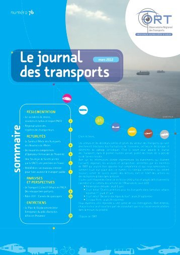 journal des transports n°76 - ORT PACA
