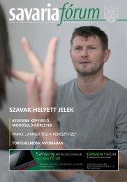 SZAVAK HELYETT JELEK - Savaria Fórum