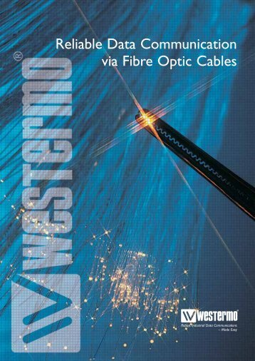 Reliable Data Communication via Fibre Optic Cables