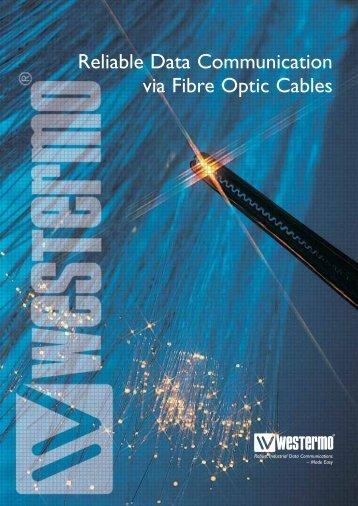 Reliable Data Communication via Fibre Optic Cables