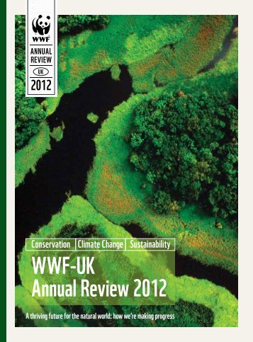 WWF-UK Annual Review 2012