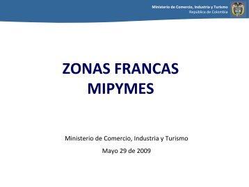 Zonas Francas y Pymes