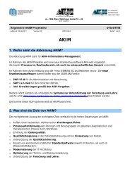Allgemeine Info - AKIM