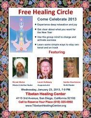 Free Healing Circle - Tibetan Healing Center