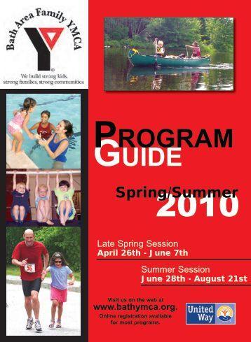 GUIDE PROGRAM - the Bath Area Family YMCA