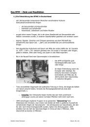 Das BTM – Ziele und Realitäten - Physis-web.de