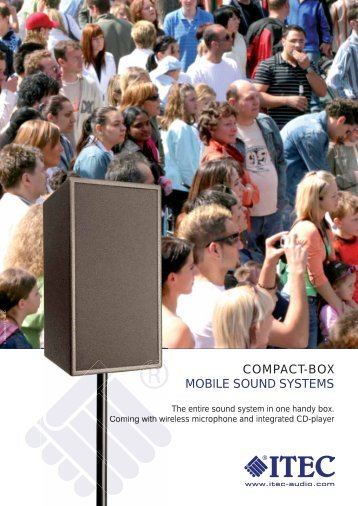 COMPACT-BOX MOBILE SOUND SYSTEMS - ITEC
