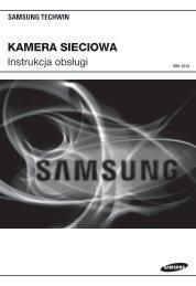 Instrukcja - Samsung CCTV