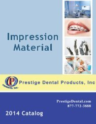 Impression Material - Prestige Dental Products