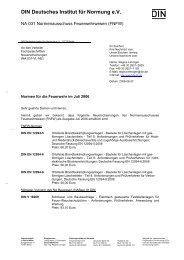 Feuerwehr Normen 2006/07 - Kreisfeuerwehrverband Alb-Donau eV