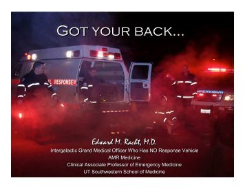 I Got Your Back! Keeping EMS Personnel Safe from Strain Injuries
