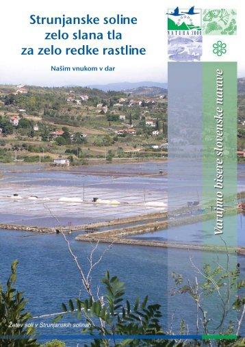 Strunjanske soline - Natura 2000