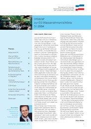 Infobrief 3-2004 (pdf, 998 KB) - Auf zu neuen Ufern!