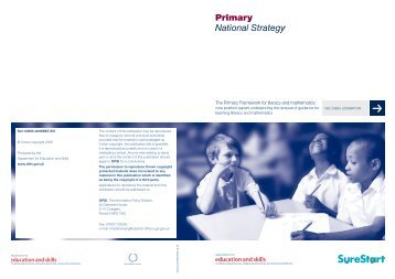 Primary Framework: Core Position papers - Dudley Virtual Resource ...