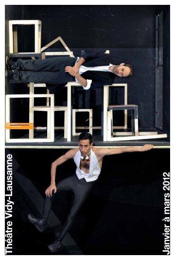 Théâtre V id y-Lausanne Janvier à mars 2012