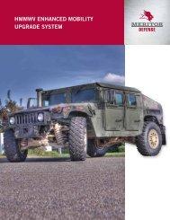 HMMWV ENHANCED MOBILITY upgrADE SYSTEM - Meritor