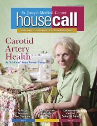 Carotid Artery Health - St. Joseph Medical Center