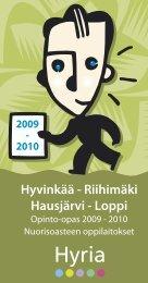 Hyvinkää - Riihimäki Hausjärvi - Loppi - Hyvinkaan kaupunki