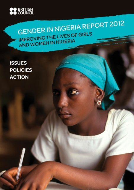 Gender in niGeria report 2012 - Economic Commission for Africa