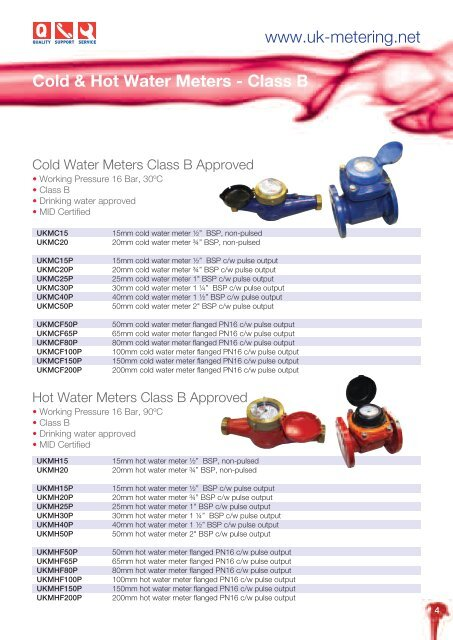 Gas Meters - UK Metering