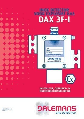 Détecteur DAX 3F-I - Dalemans Gas Detection