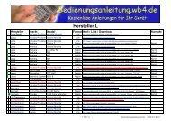 Hersteller L - Bedienungsanleitung - WB4.DE