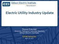 Electric Utility Industry Update - EERE