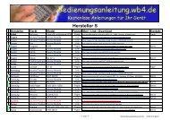 Hersteller S - Bedienungsanleitung - WB4.DE