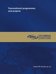 Transnational programmes and projects