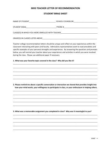 Parent brag sheet writable pdf for Navy brag sheet template pdf