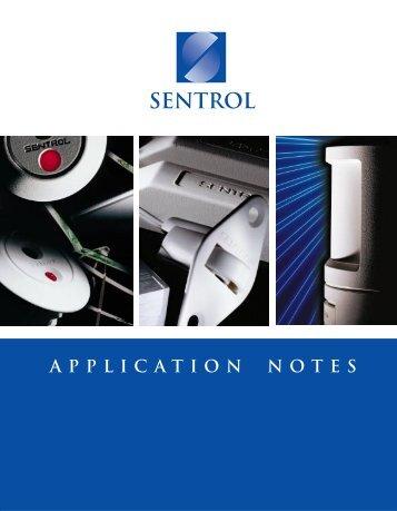 SENTROL Application notes - Alarms BC