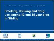 Stirling - Drug Misuse Information Scotland - Information Services ...