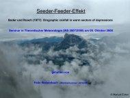 Seeder-Feeder-Effekt - Wetteran