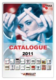 CATALOGUE - Triax