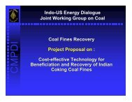 Coal Fine Recovery Effective Technology - Office of Fossil Energy