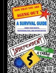 Survival Guide - Division of Child and Family Services