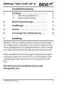 DEVIreg™ 330 (+5 till +45 °C) - Danfoss.com - Page 3